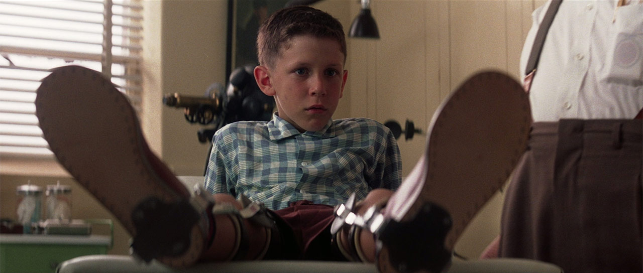 Forrest Gump as a kid